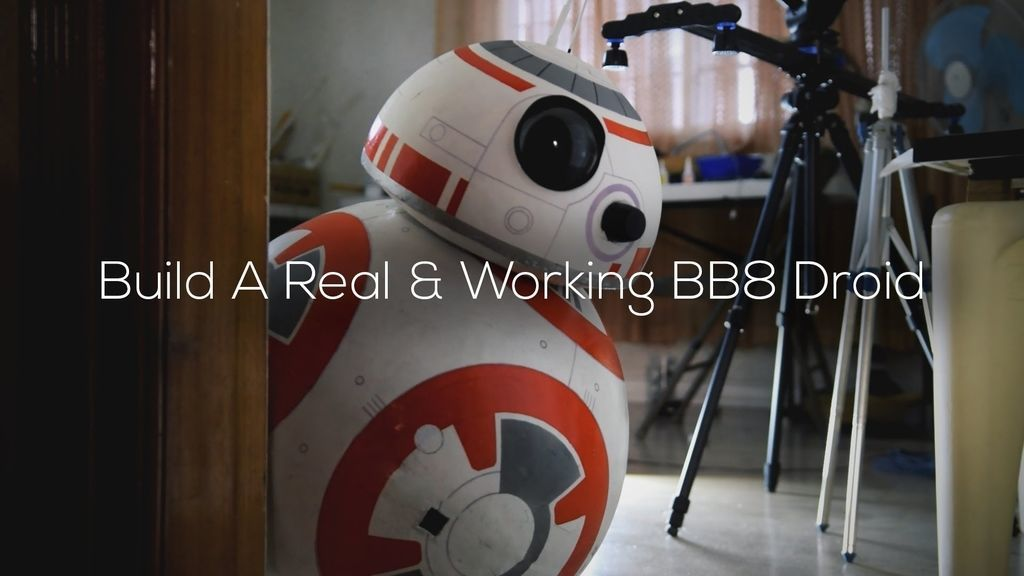 17-Year-Old Builds a Fully Functional, Life-Size BB-8 Robot!