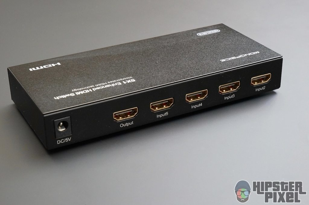 Monoprice 5X1 HDMI Automatic Switch Review