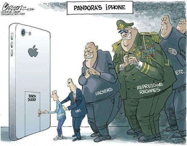 Impact of iPhone Back-Door, in One Image