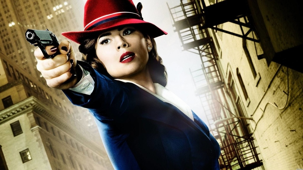 Agent Carter, With and Without the Special Effects