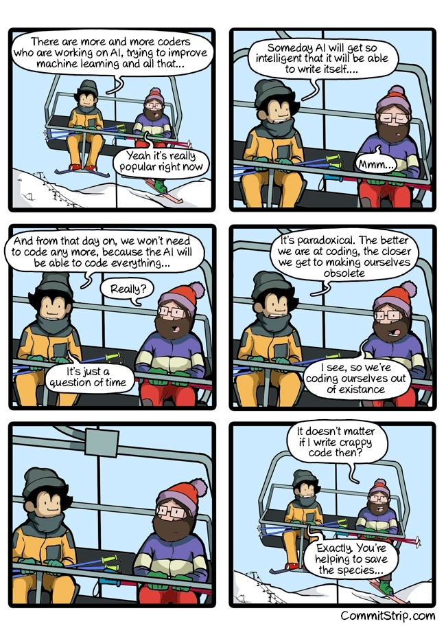 The End of Coders [Comic]