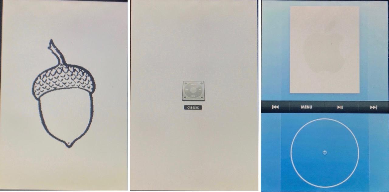 Acorn OS on the original iPhone