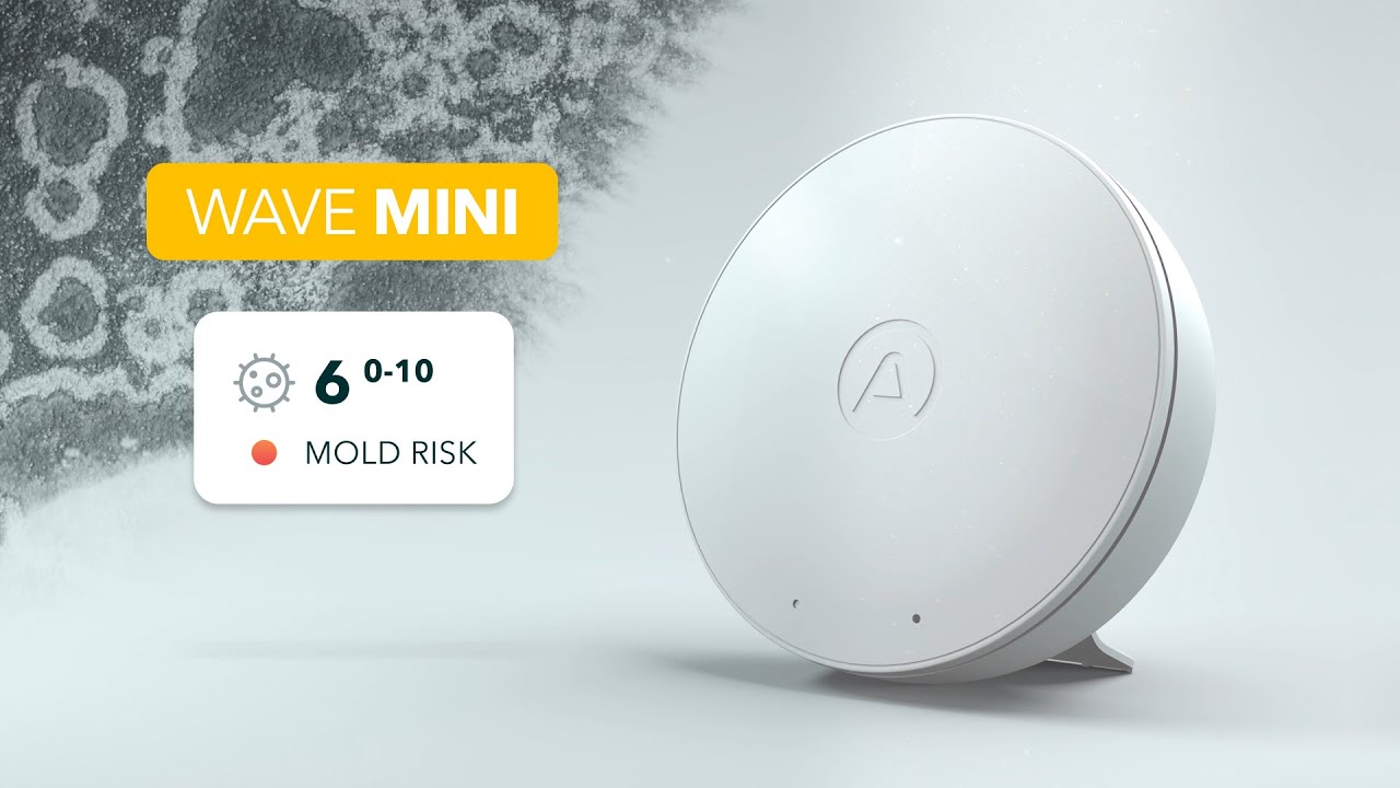 Airthings Adds Mold Risk Indication to Wave Mini