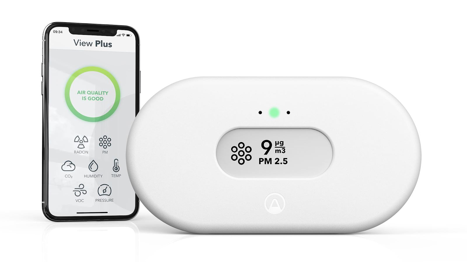 The New Airthings View Plus