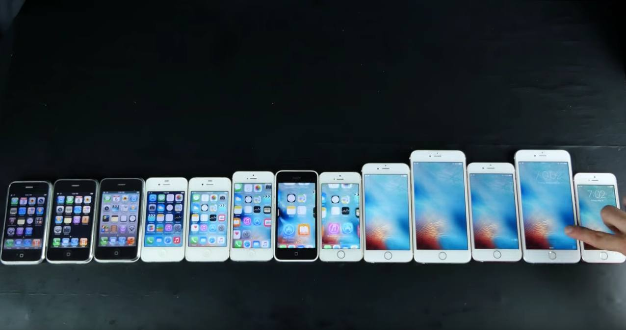 Every iPhone Speed Tested in Various Ways (2016 Edition)