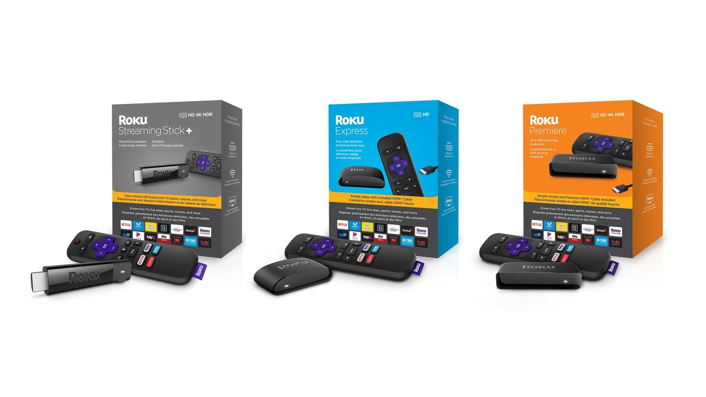 Roku Launches New Roku Express, Streaming Stick+ and the Premiere