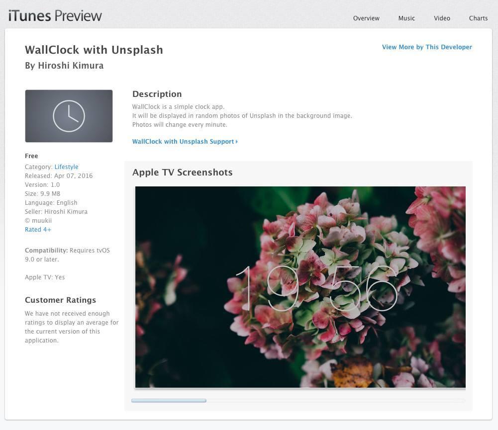 Apple TV app web link example