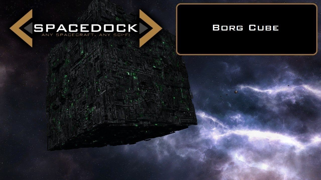 The Borg Cube, the Most Efficient Spaceship