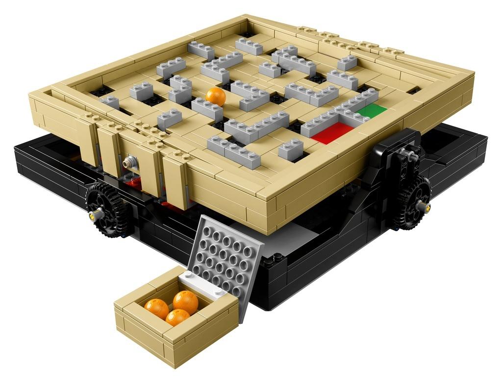 Imagine a LEGO Marble Maze. It's Coming Next April!
