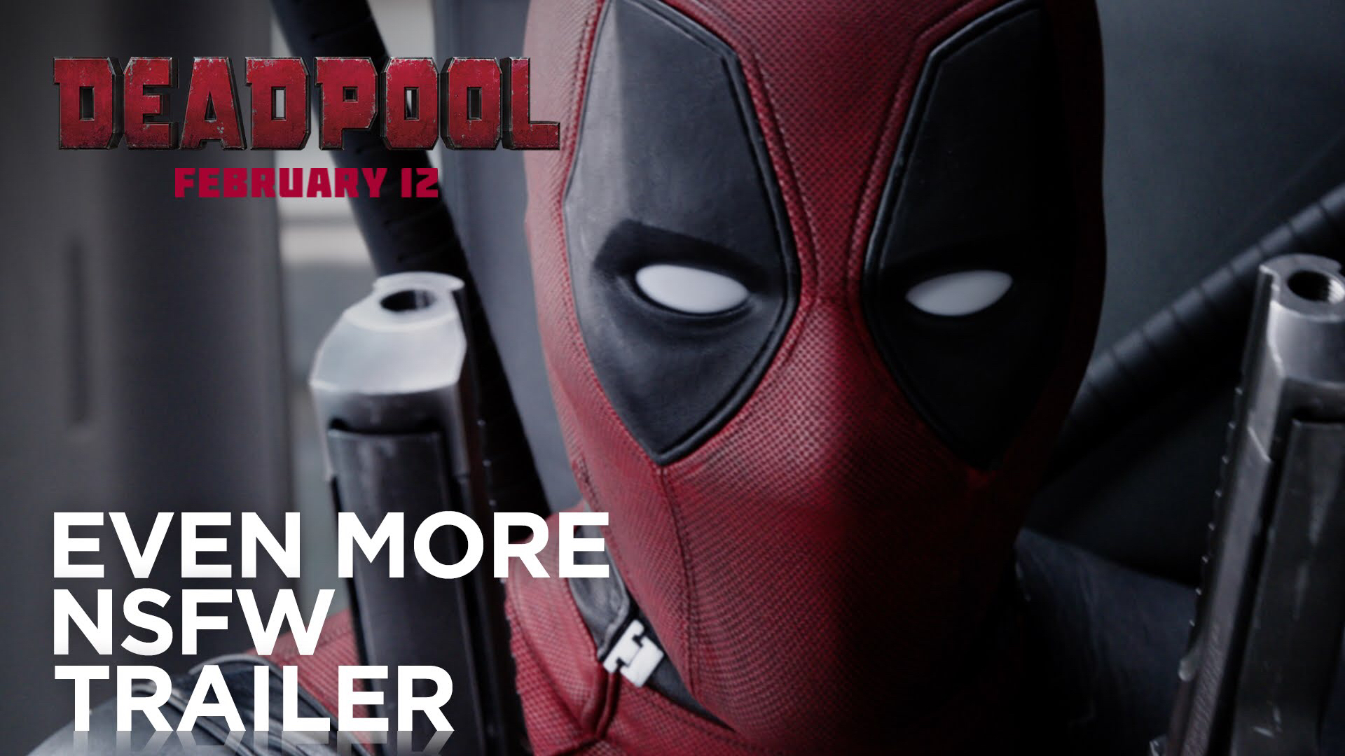 Deadpool Red Band Trailer Is Out, Don't Share It With Your Kids Though!