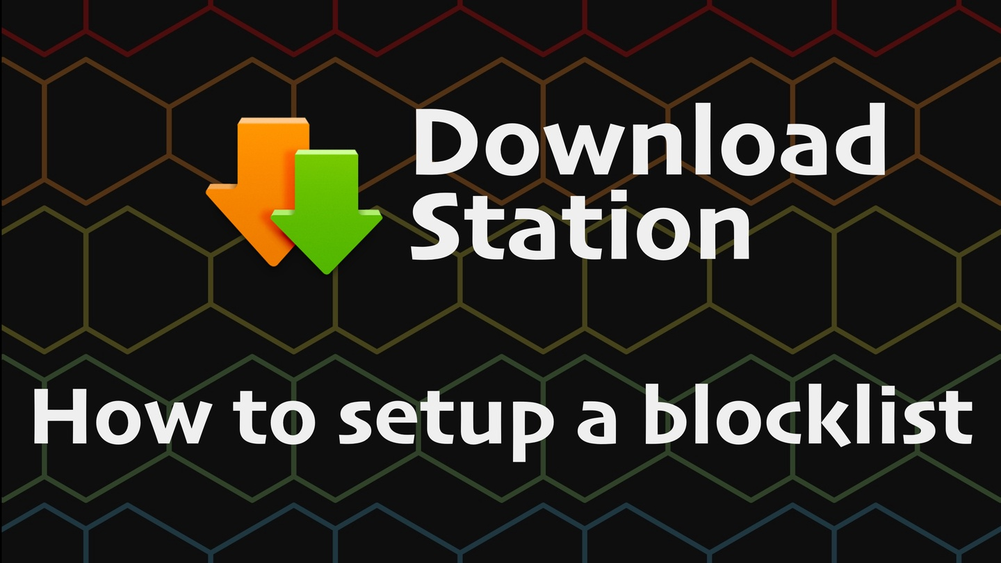 How to Add a Blocklist to Synology Download Station [Tutorial]