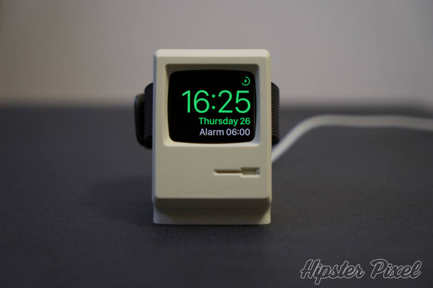 Elago W3, the Cutest  Watch Stand in the Shape of a Macintosh