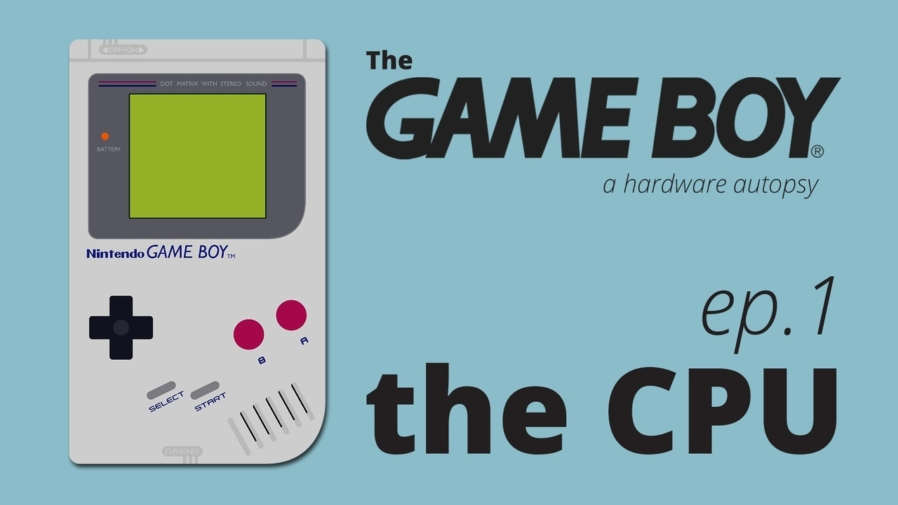 The Game Boy, a Hardware Autopsy