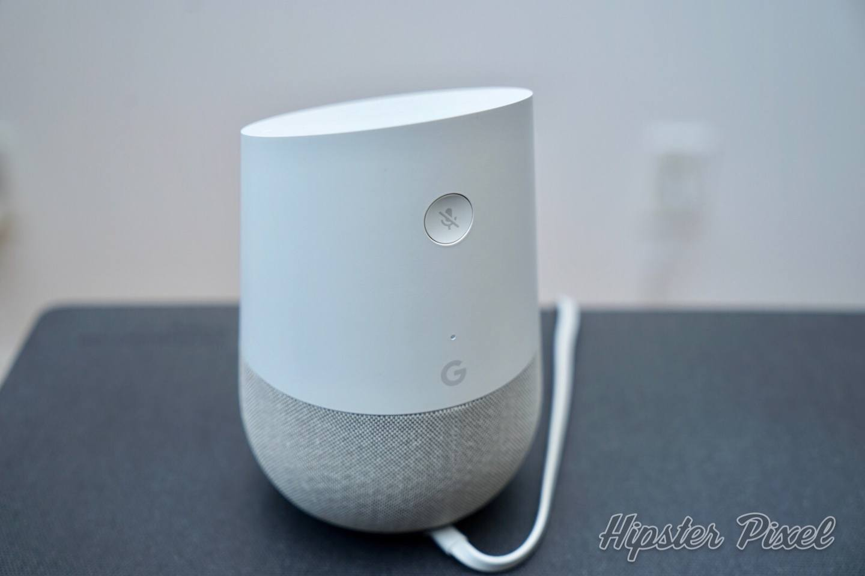 Google Home's Mute Button