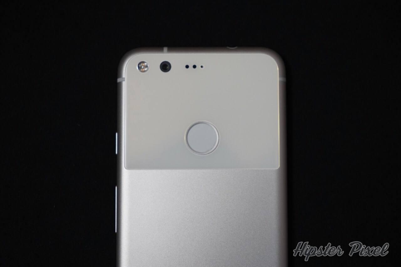 Google Pixel with Fingerprint Sensor