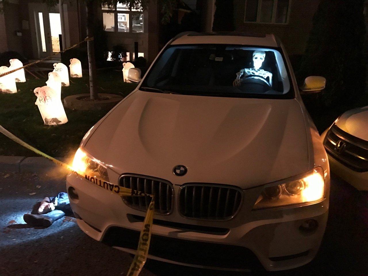 Low-light Halloween Night Shot