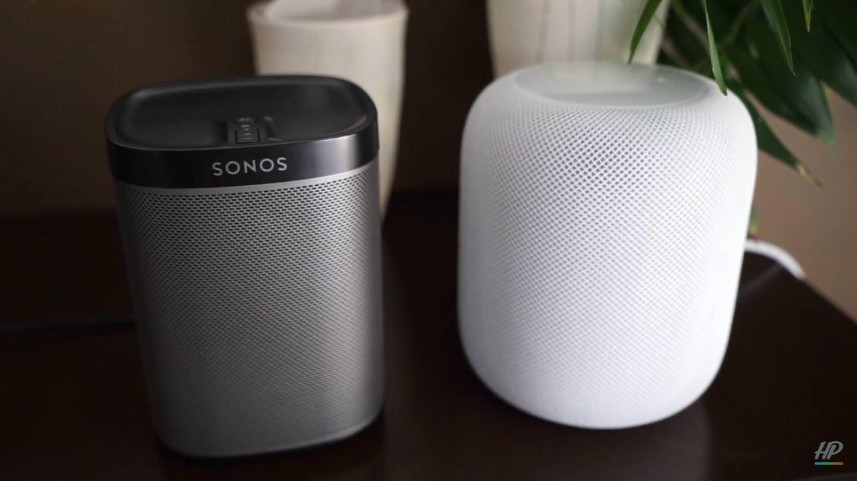HomePod vs. Sonos Play:1