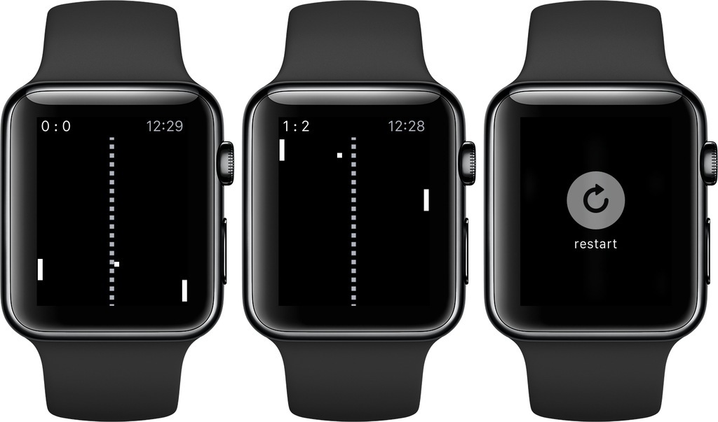Pong for Watch Is Out!