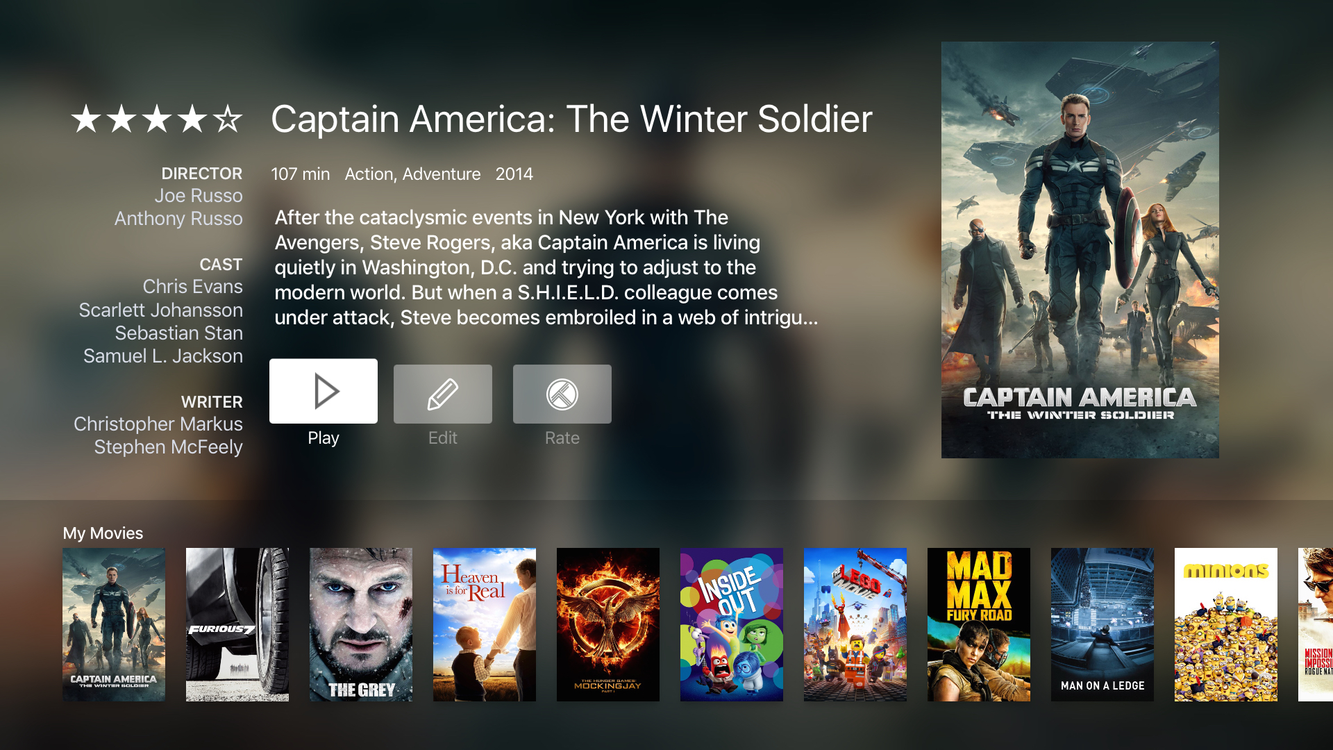 infuse 4 for Apple TV