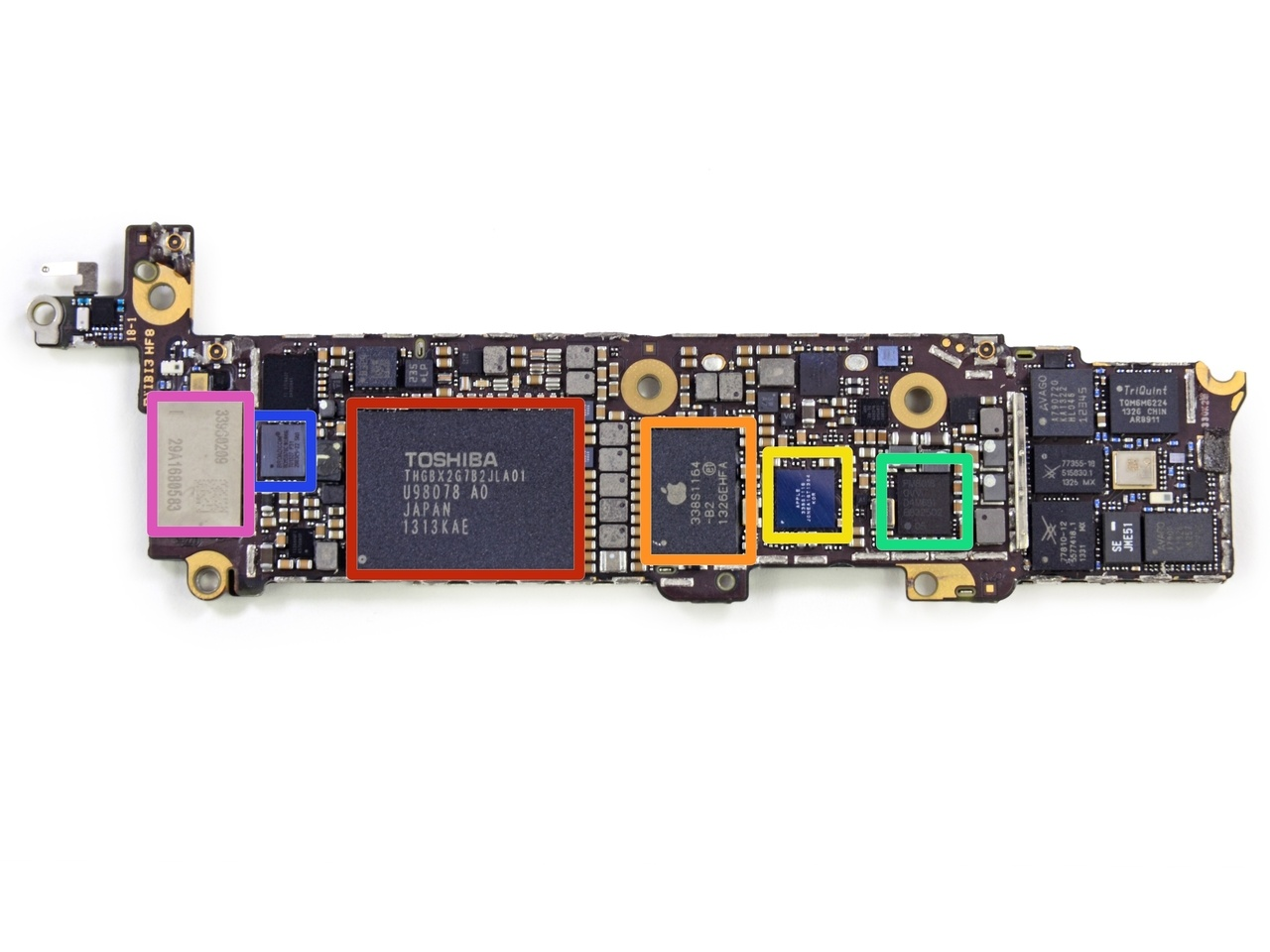 Professor Hacks iPhone NAND Chip of iPhone 5C to Gain Access