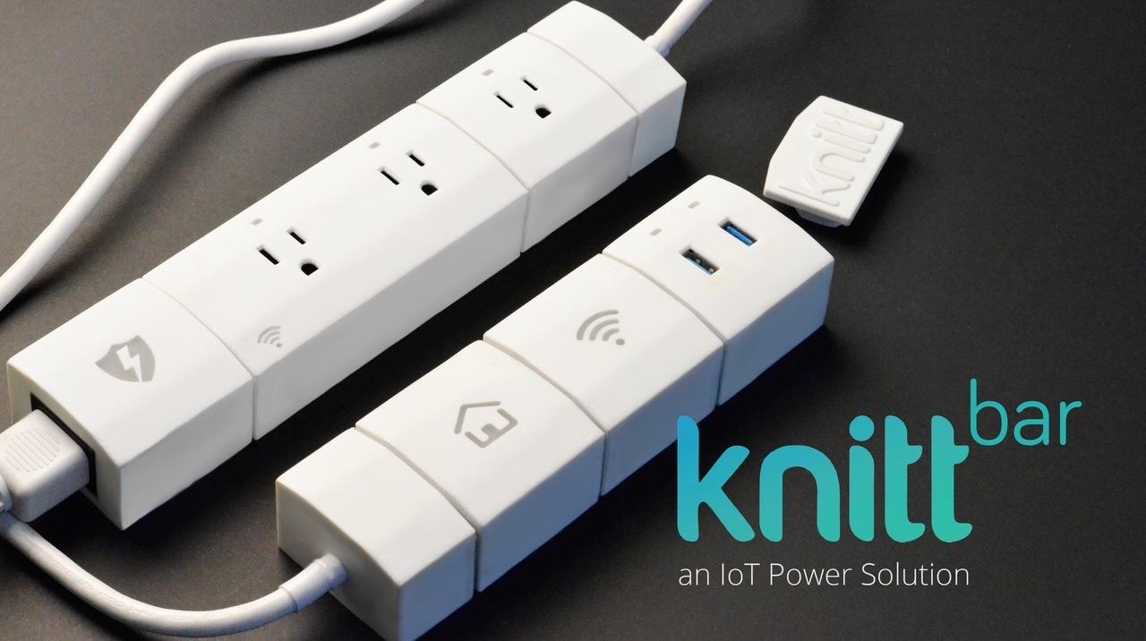 KnittBar, a Connected Power Bar With Many Personalities
