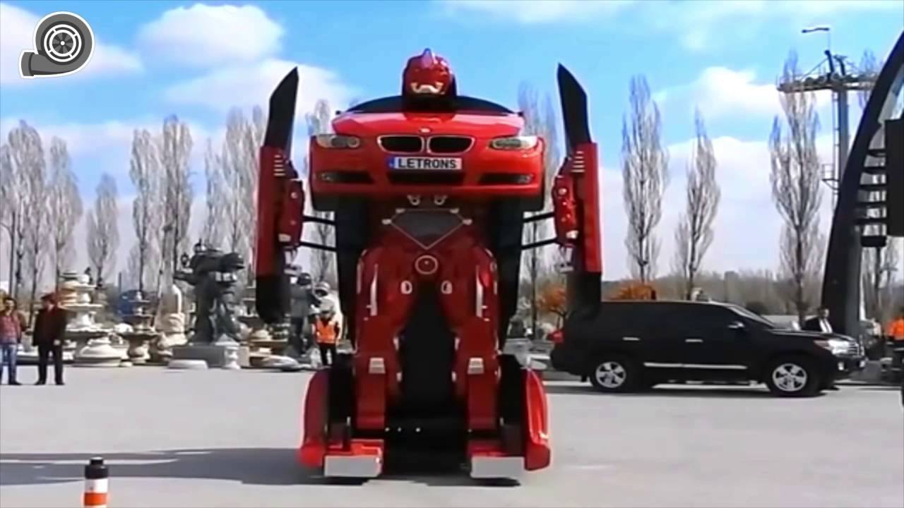 Letvision Created a Remote Controlled BMW Transformer
