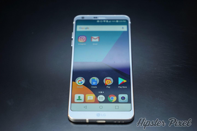 LG G6, a 18:9 ratio screen