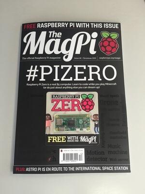 Mag Pi magazine with Pi Zero included