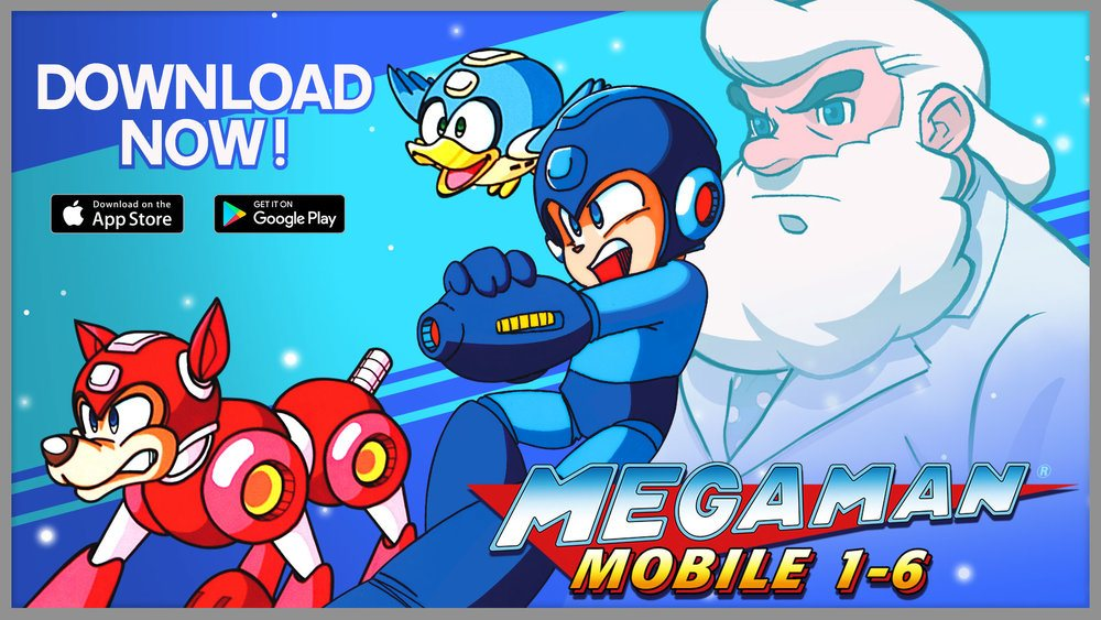 Mega Man 1 Through 6 Now Available on iOS and Android