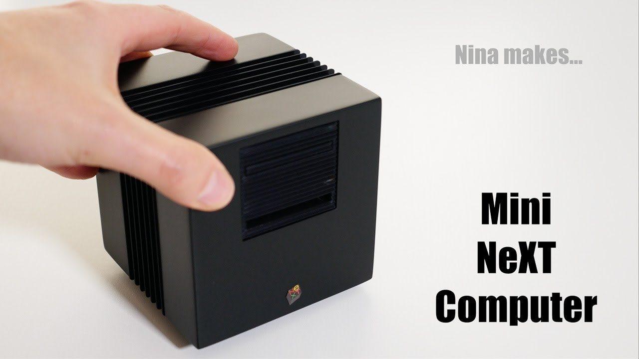 Amazing NeXT Computer Case for Raspberry Pi!