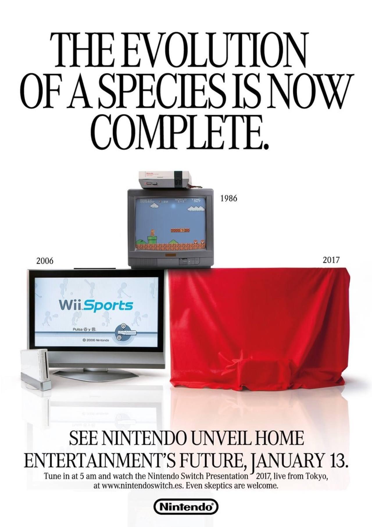 Nintendo Switch Classic Ad