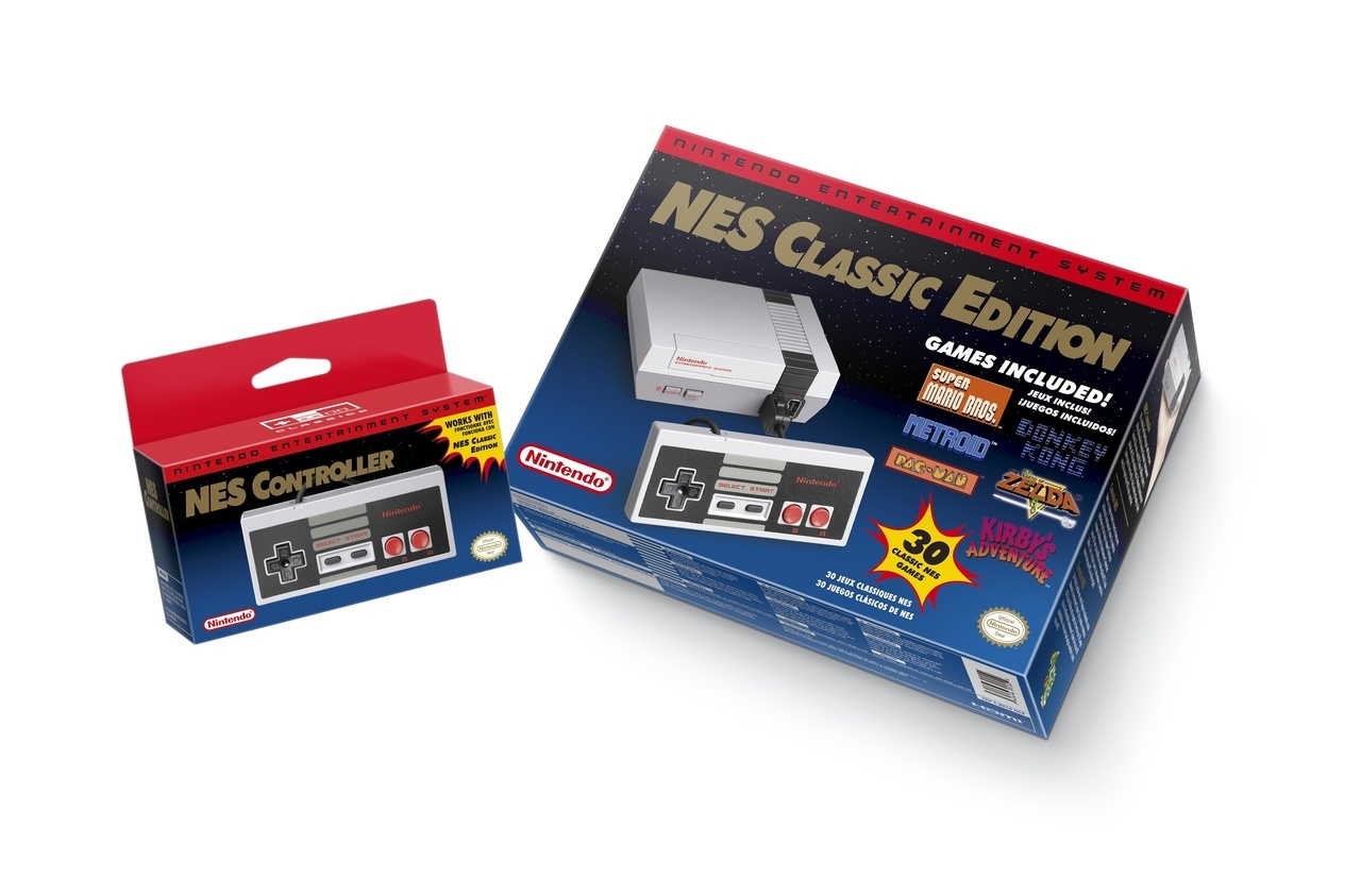 Nintendo to Release the NES Classic Edition in November!