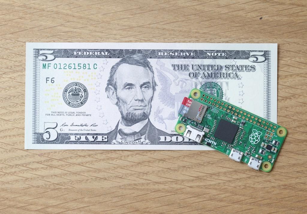 Raspberry Pi Organization Launches the Pi Zero, a 5$ Computer