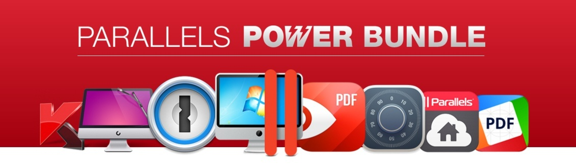 Parallels Power Bundle Sale, 8 Apps For 80$!