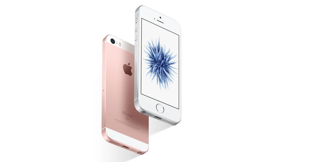 iPhone SE in Rose Gold