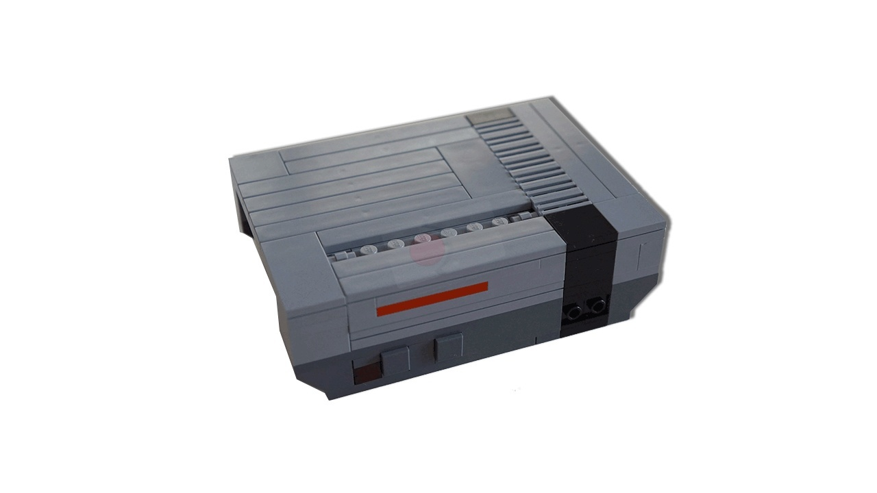 NES LEGO Case for Raspberry Pi 3 (and 2 and B+)