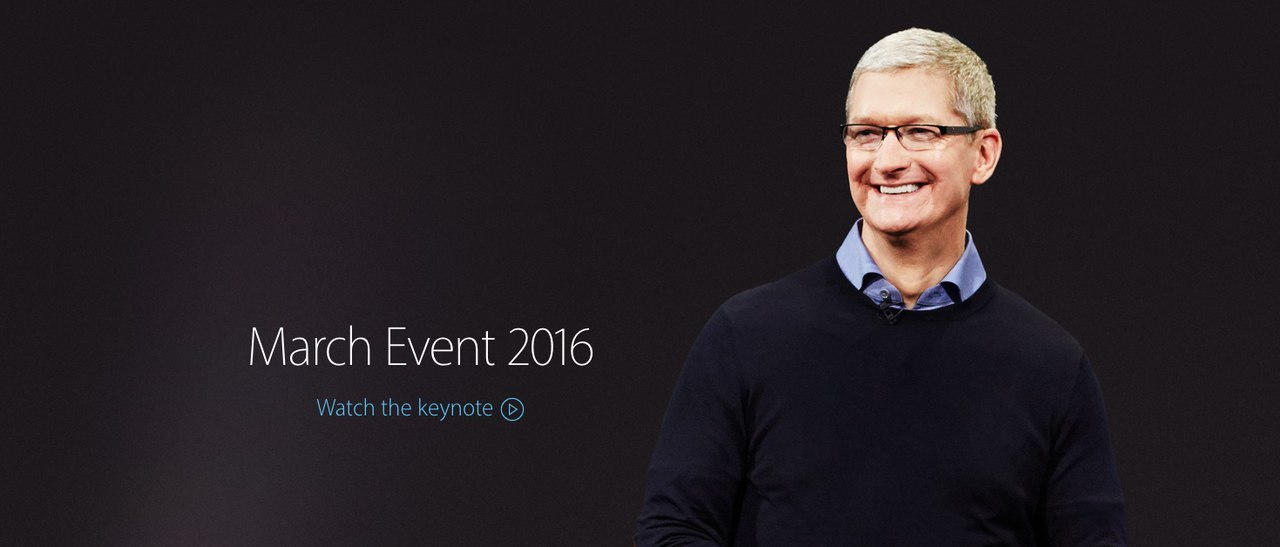 Thoughts on the iPhone SE and iPad Pro Event