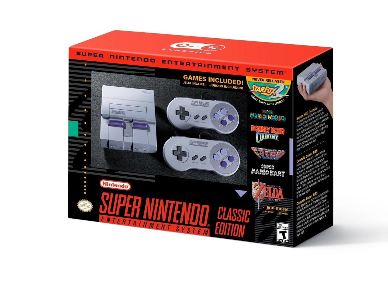 The SNES Classic Edition Box