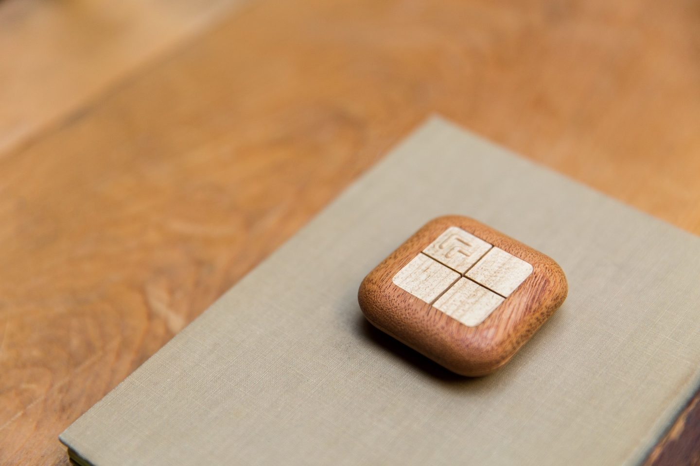 Turn Touch, a Wooden 4 Button Smart Remote!