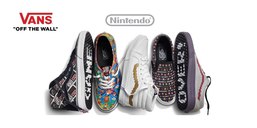 Vans Nintendo Products Are Now Available