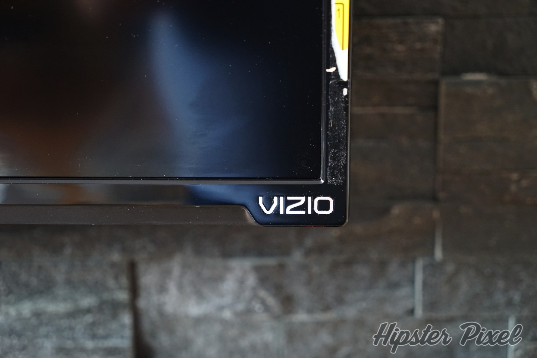 VIZIO D65-D2 and its damn sticker...