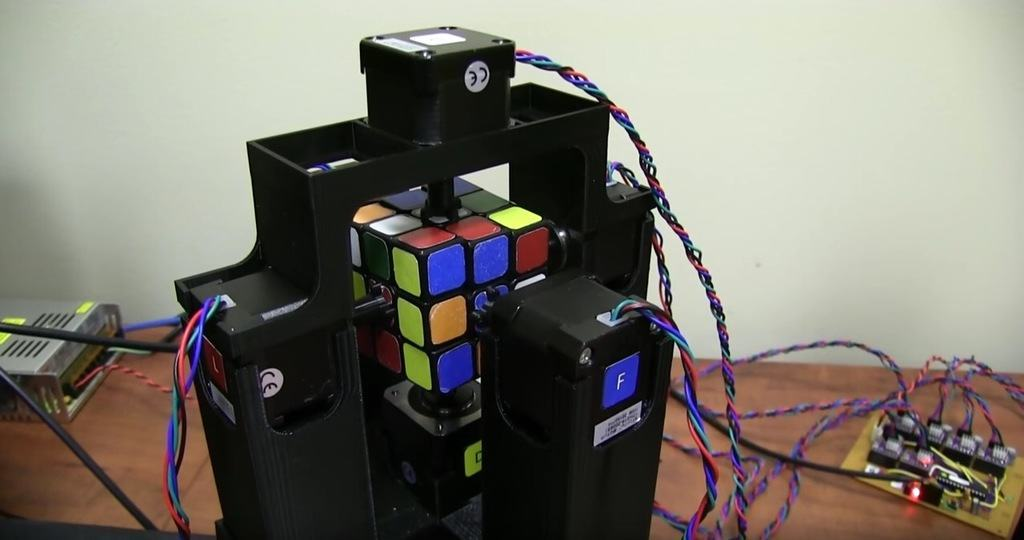 I Welcome Our Rubik's Cube Solver Overlords