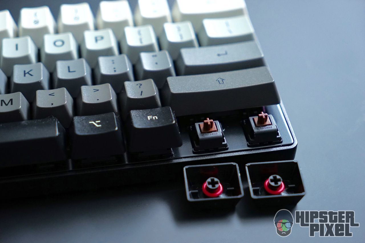 Cherry MX Brown with Red O-rings
